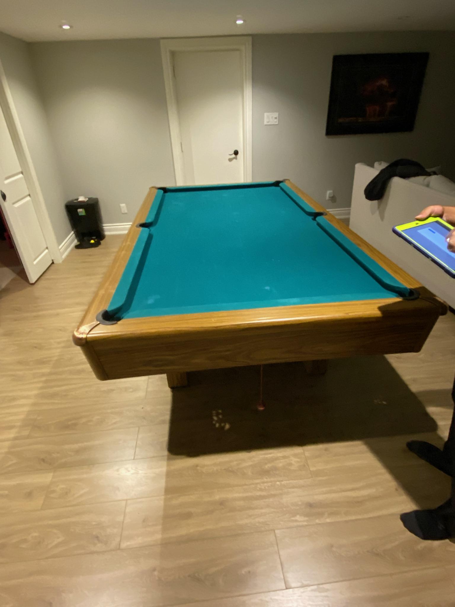 Pool Table – Mississauga